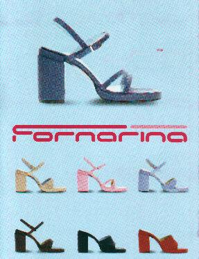 stock di scarpe fornarina